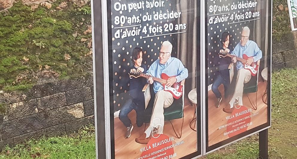 French seniors ad